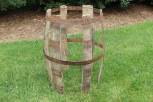 Deconstructed Wine Barrel