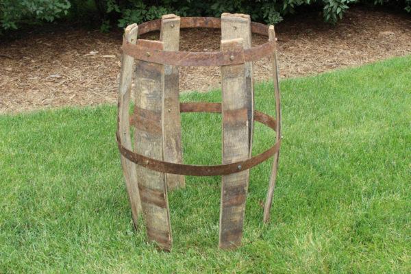 Deconstructed Wine Barrel