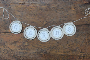 Doily Cards Banner