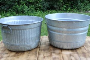 Galvanized Tubs