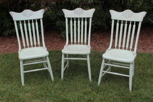 Light Green Farm Chairs