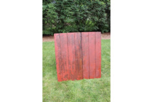 Small Red Barn Door