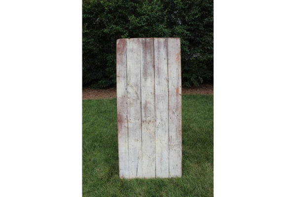 White Washed Barn Door