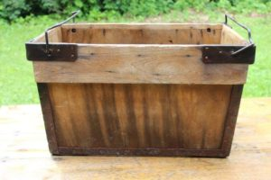 Wood Delivery Box with Handles