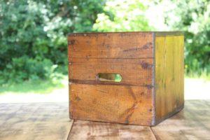 Wooden Crate Riser