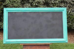 F5: Turquoise Chalkboard -XL