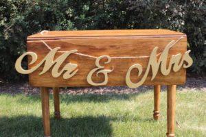 Mr. & Mrs. Gold Banner
