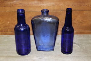 Blue Bottles Vintique Rental-Wisconsin Wedding