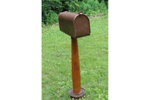 Bronze Standing Mailbox