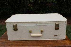 Cream Suitcase- XL