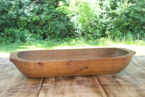 Wood Dough Bowl- M