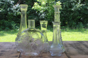 Clear Glass Vases -Medium