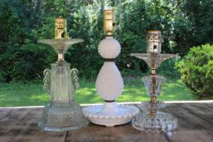 Lamp Base Candlesticks