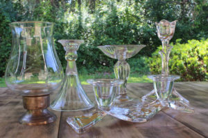 Clear Glass Candles