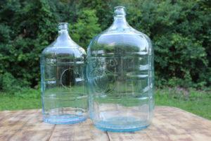 Large Glass Jugs