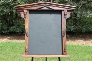 F7: Free Standing Wood Chalkboard