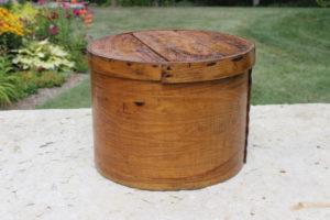 Round Cheese Box-L