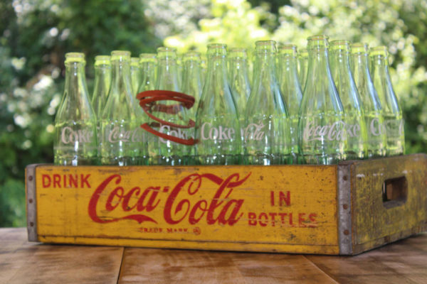Soda Crate with Bottles
