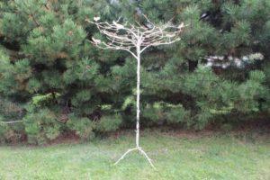 Rusted Metal Tree