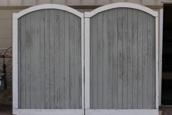 Reversible Barn Doors
