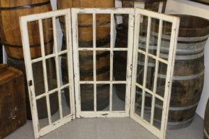 Cream Window Panes