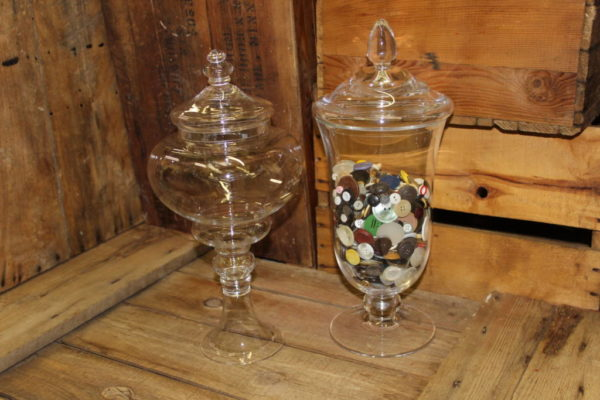 Apothecary Jars -L Vintique Rental WI