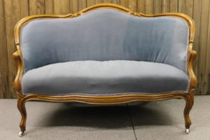 Dusty Blue Sofa