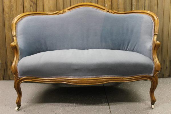 Dusty Blue Sofa