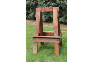 Double Sided Wood Easel