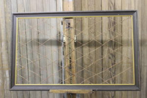 Wood Frame with Diagonal Twine