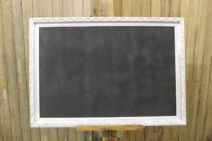 F8: Intricate Silver Chalkboard