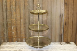 Silver 3-Tiered Stand