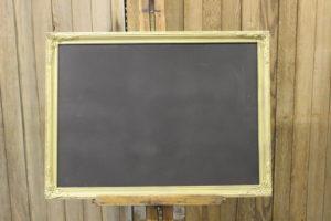 Satin Gold Chalkboard