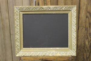 F68 A&B: Tan & Gold Chalkboard
