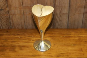 2-Piece Heart Wine Glass