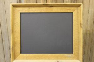 F60: Rough Sawn Deep Set Chalkboard