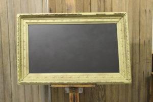 F6: Gold Gilded Chalkboard