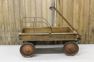 Child's Wood Wagon