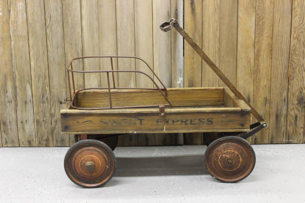 Wooden Wagon | eBay