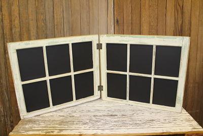 Chalkboard Window Vintique Rental-Wisconsin Wedding