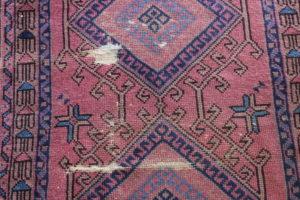 """""""Arthur"""" Faded Burgundy Oriental Rug-S"""