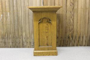 Gothic Oak Pulpit