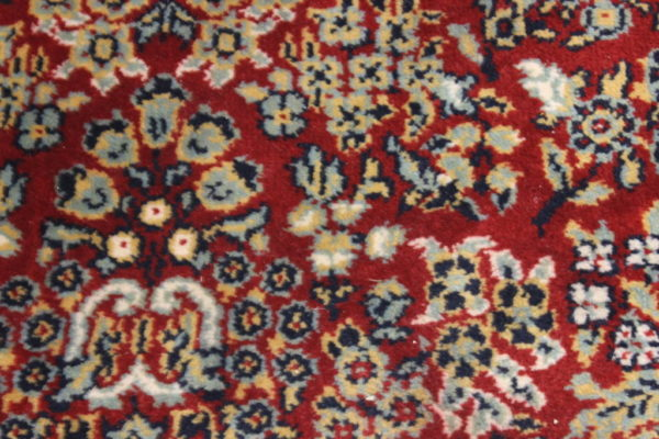 """Aiden"" Red & Cream Oriental Rug-L"