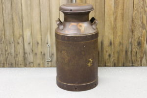 Rusted Milk Can