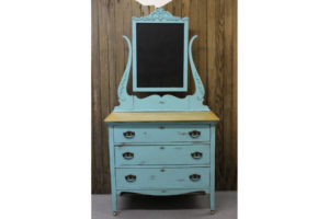 Teal-Dresser-with-Chalkboard