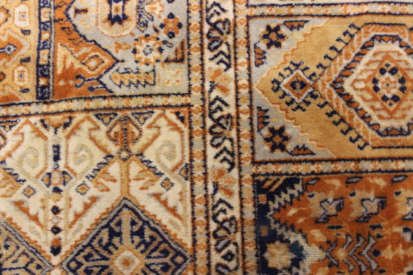 """Walter"" Worn Orange Oriental Rug-XL"