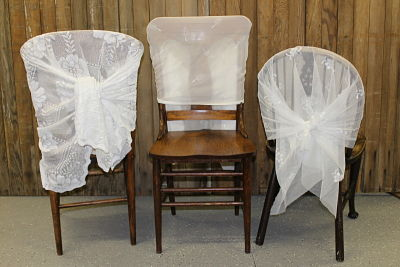Lace Chair Backs