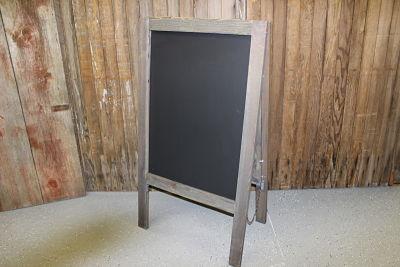 F114 (ABC): Barn Wood Bistro Chalkboard