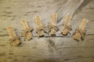 Clothespins Vintique Rental-Wisconsin Wedding
