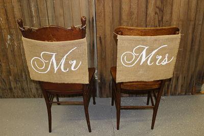 Chair Backs Vintique Rental-Wisconsin Wedding